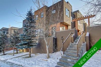 South Calgary Townhouse for sale:  3 bedroom 1,680 sq.ft. (Listed 2019-12-09)